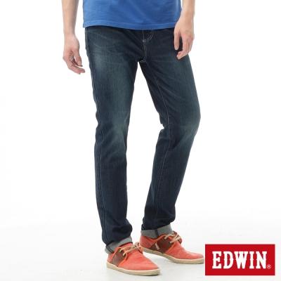 EDWIN-AB褲-迦績褲JERSEYS涼感牛仔褲-男-石洗綠
