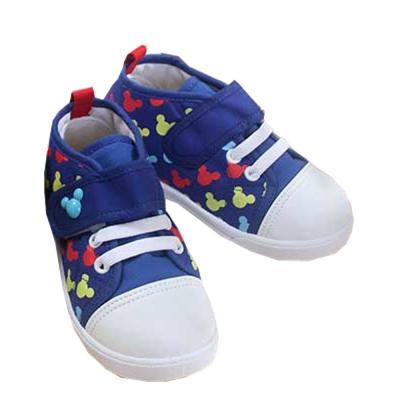 魔法Baby台灣製迪士尼米奇男童帆布鞋sh7773