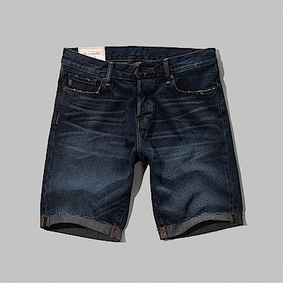 AF a&f Abercrombie & Fitch 短褲 藍色 0801