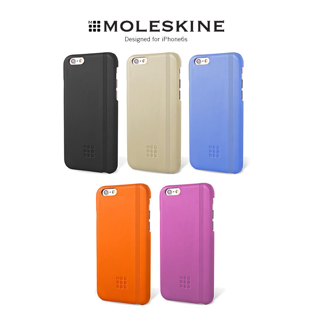 Moleskine iPhone6s 4.7吋 經典皮革背蓋
