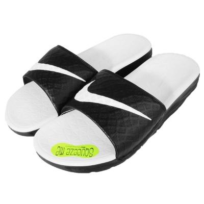 拖鞋 Nike Benassi Solarsoft 黑 白 男 女