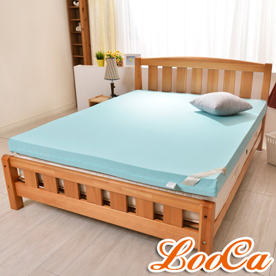 LooCa 日本大和涼感10cm彈力記憶床枕組  雙人5尺