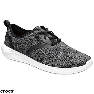 Crocs 卡駱馳 (男鞋) LiteRide男士繫帶鞋 205162-066