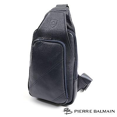PB皮爾帕門-ROYAL羅亞系列-質感單肩包-BL