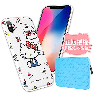 iStyle iPhone X Hello Kitty 純真手機殼