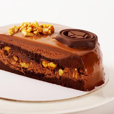 達克闇黑 核桃巧克力蛋糕7吋
