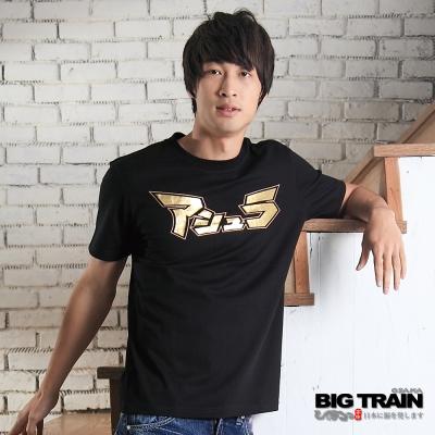 BIG TRAIN-阿修羅T恤-黑