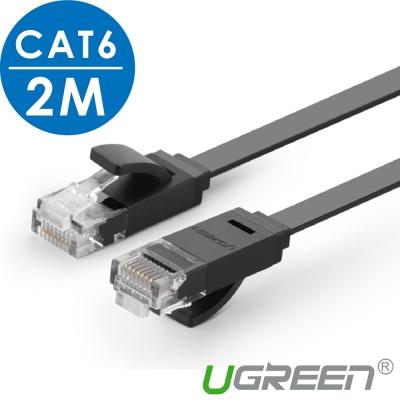 綠聯 CAT 6 網路線 FLAT版  2 M