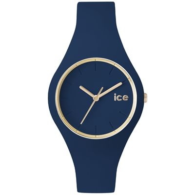 Ice-Watch 森林系列 質感風尚腕錶-午夜藍/38mm
