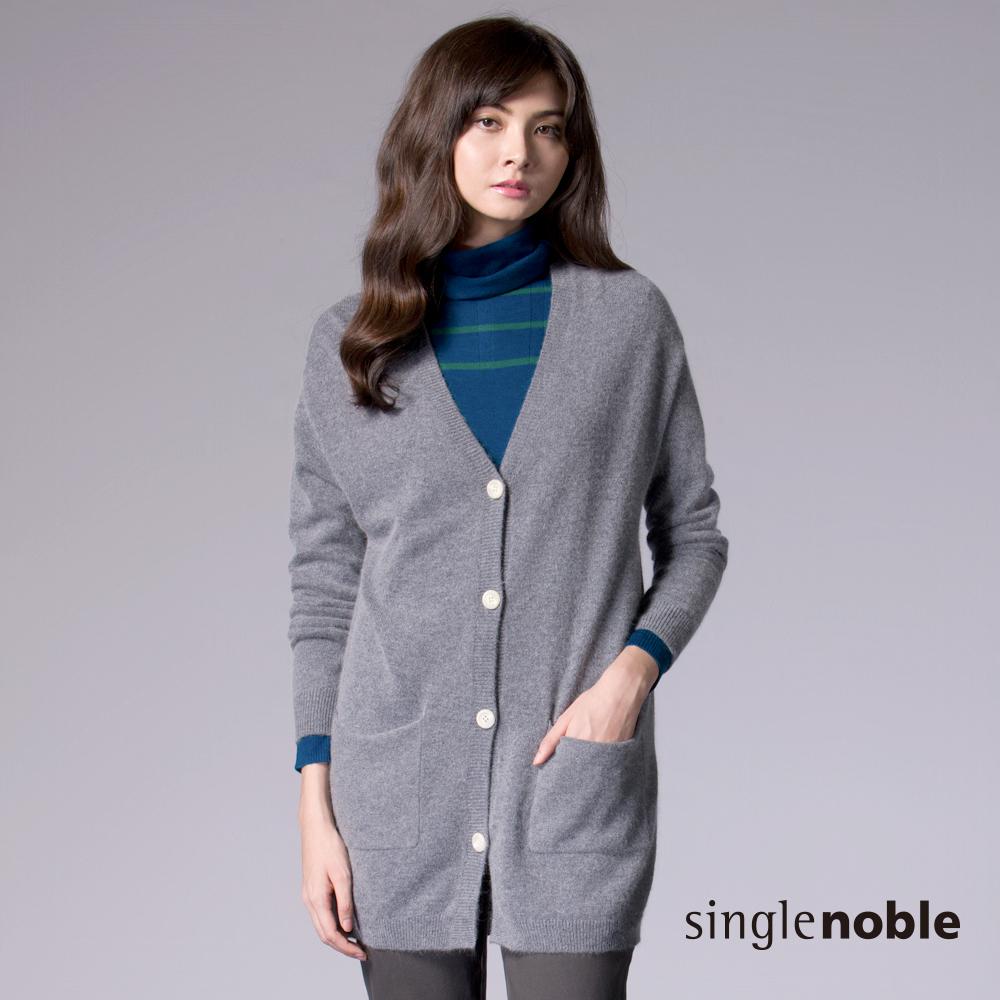 長 版 厚 針織 外套