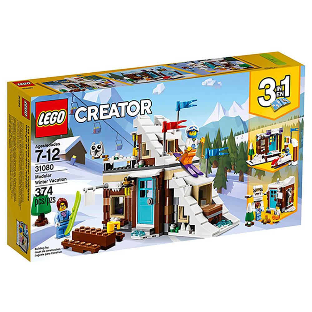 LEGO樂高 3合1創作系列 31080 冬季假期滑雪小屋