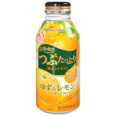 Pokkasapporo 鮮果食感果汁-柚子檸檬風味(400g)