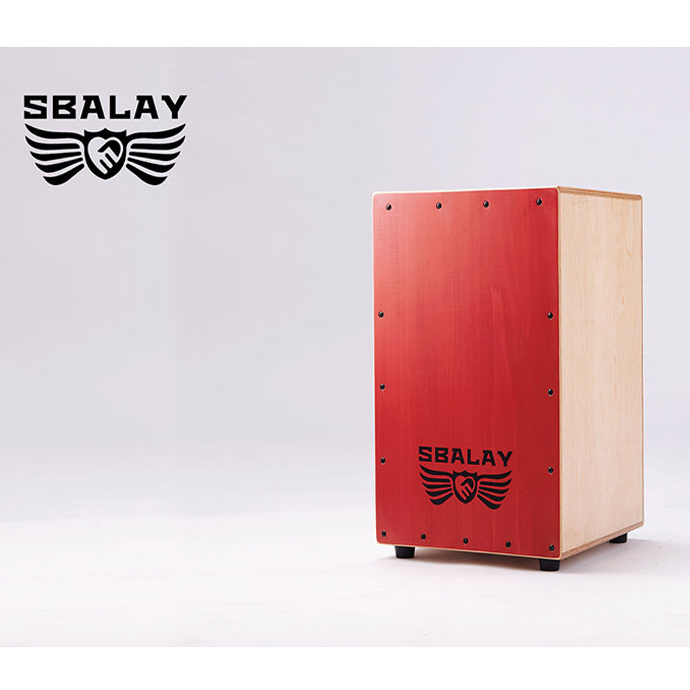 SBALAY SCJ-2 RD 紅色木箱鼓附贈袋子