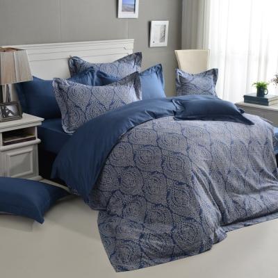 精梳棉-加大四件式薄被套床包組