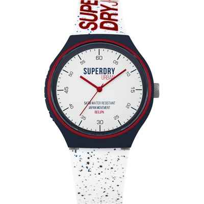 Superdry極度乾燥  宇宙之星運動腕錶-SYG227W-44mm