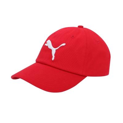 PUMA-男女基本系列棒球帽-緞帶紅