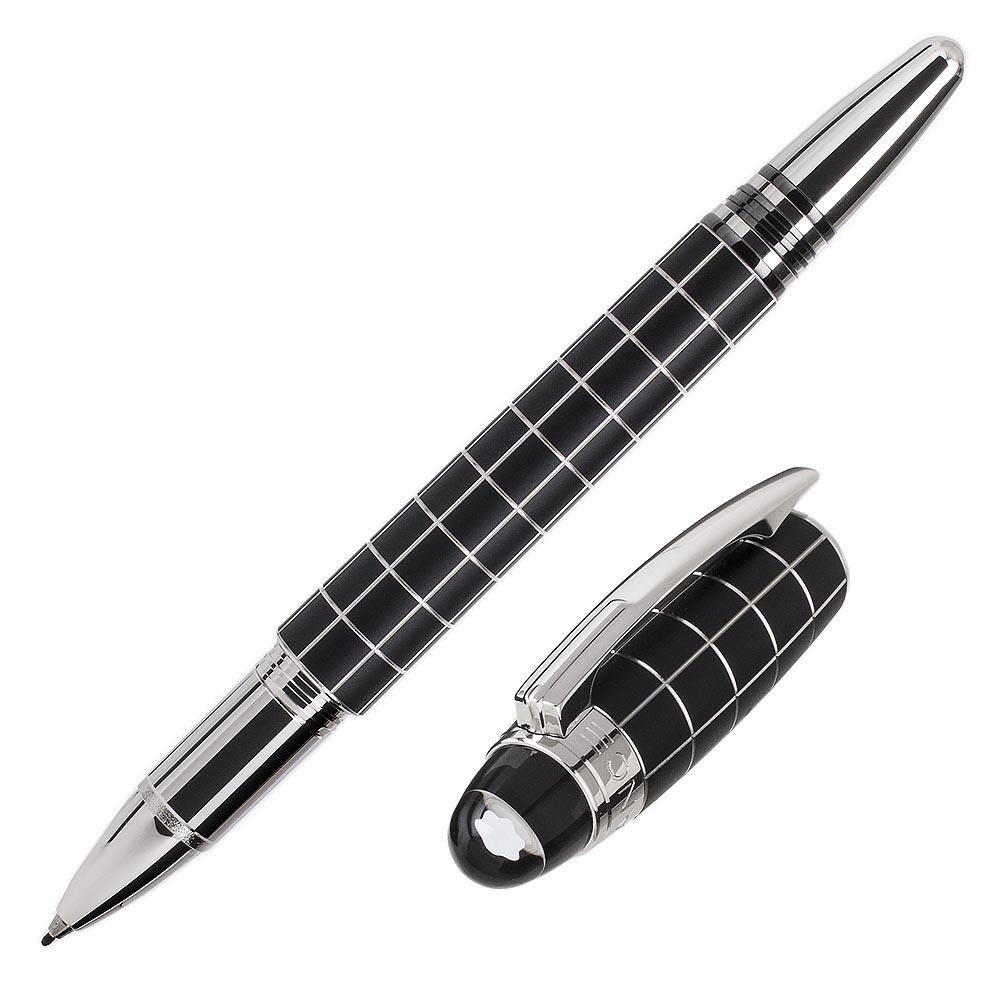 萬寶龍 STARWALKER 格紋橡膠漂浮簽字筆