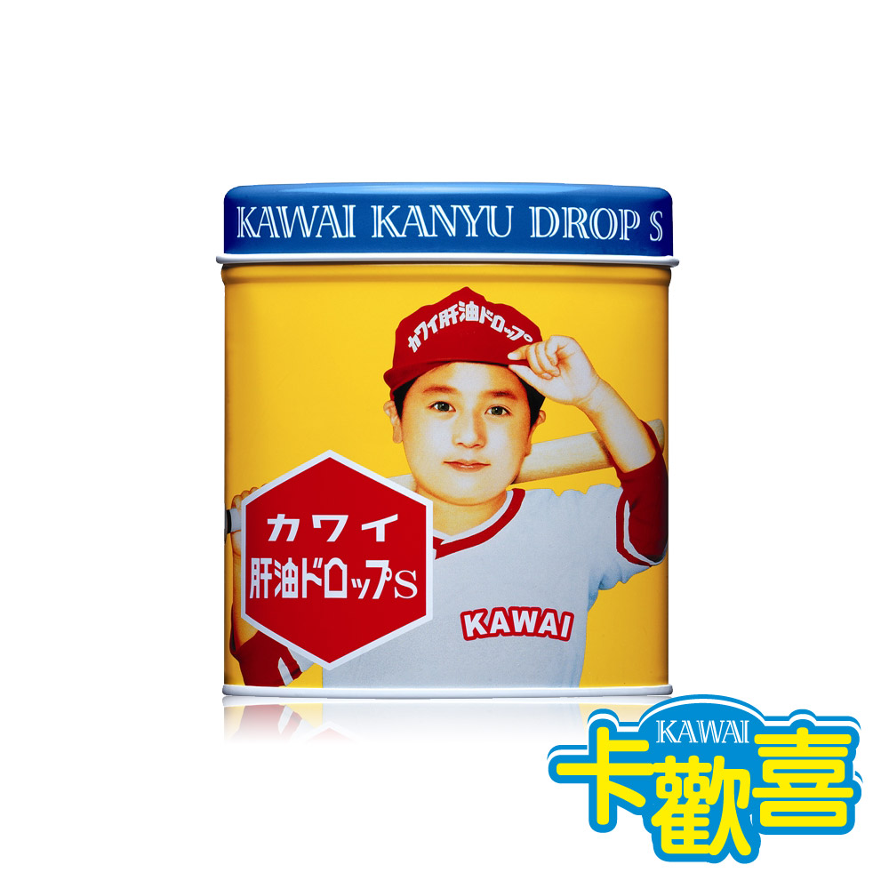 KAWAI卡歡喜 健康肝油球(原味)-300粒/罐