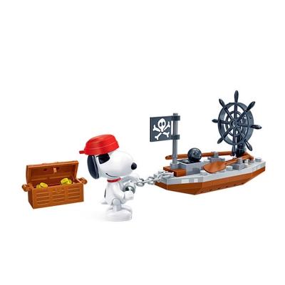任選 BanBao邦寶積木 史努比系列 Peanuts Snoopy 海盜歷險 7521