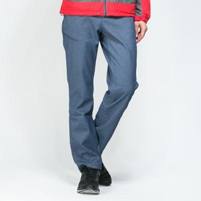 【SNOW FOX 雪狐】男款抗風透氣保暖彈性長雪褲 RP-61458 深藍