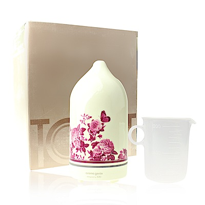 LERBOLARIO蕾莉歐 TOAST香氛精靈水氧機-玫瑰插畫美禪型LT09333-23
