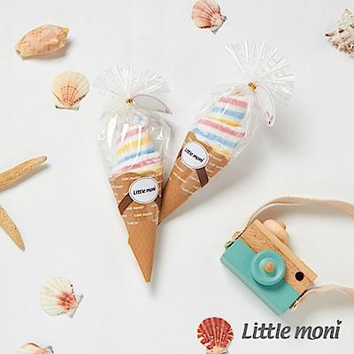 Little moni 冰淇淋造型毛巾