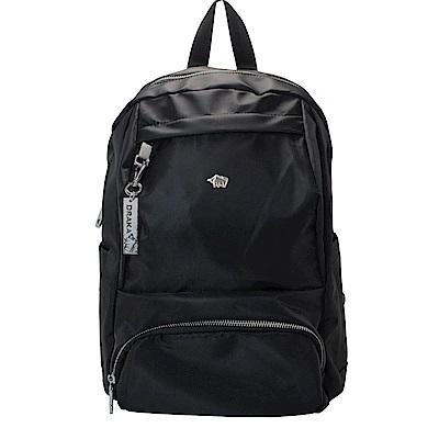 DRAKA 達卡 - 多功能防潑水後背包-黑