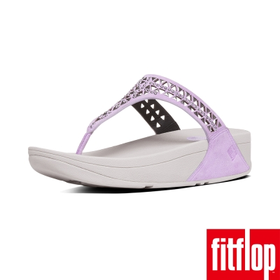 FitFlop TM-CARMEL TM TOE-POST-粉紫色