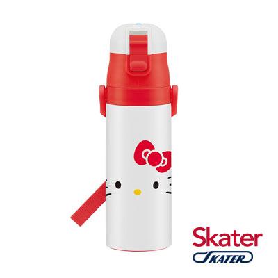Skater不鏽鋼直飲保溫水壺(470ml)HELLO KITTY FACE