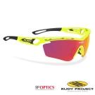 【Rudy Project】TRALYX-RP 專業鍍銀運動眼鏡_螢光黃框+橘色多層膜鏡片