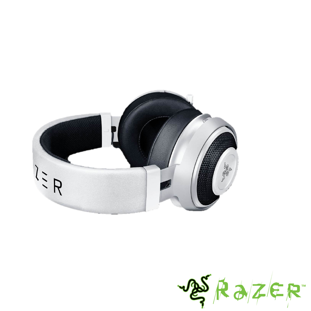 Razer Kraken Pro V2 Oval 耳機(白)