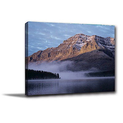 美學365-單聯式橫幅 掛畫無框畫 壯麗山水 40x30cm