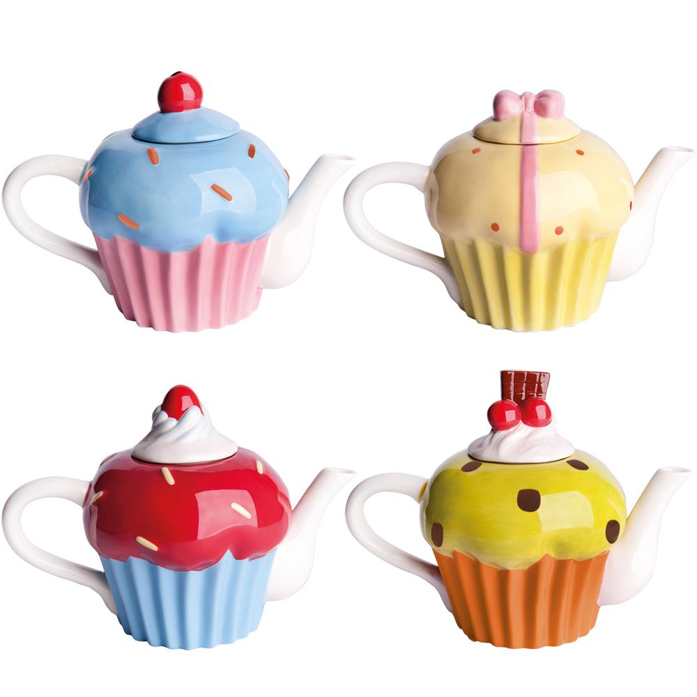 EXCELSA 杯子蛋糕過濾茶壺(0.5L)