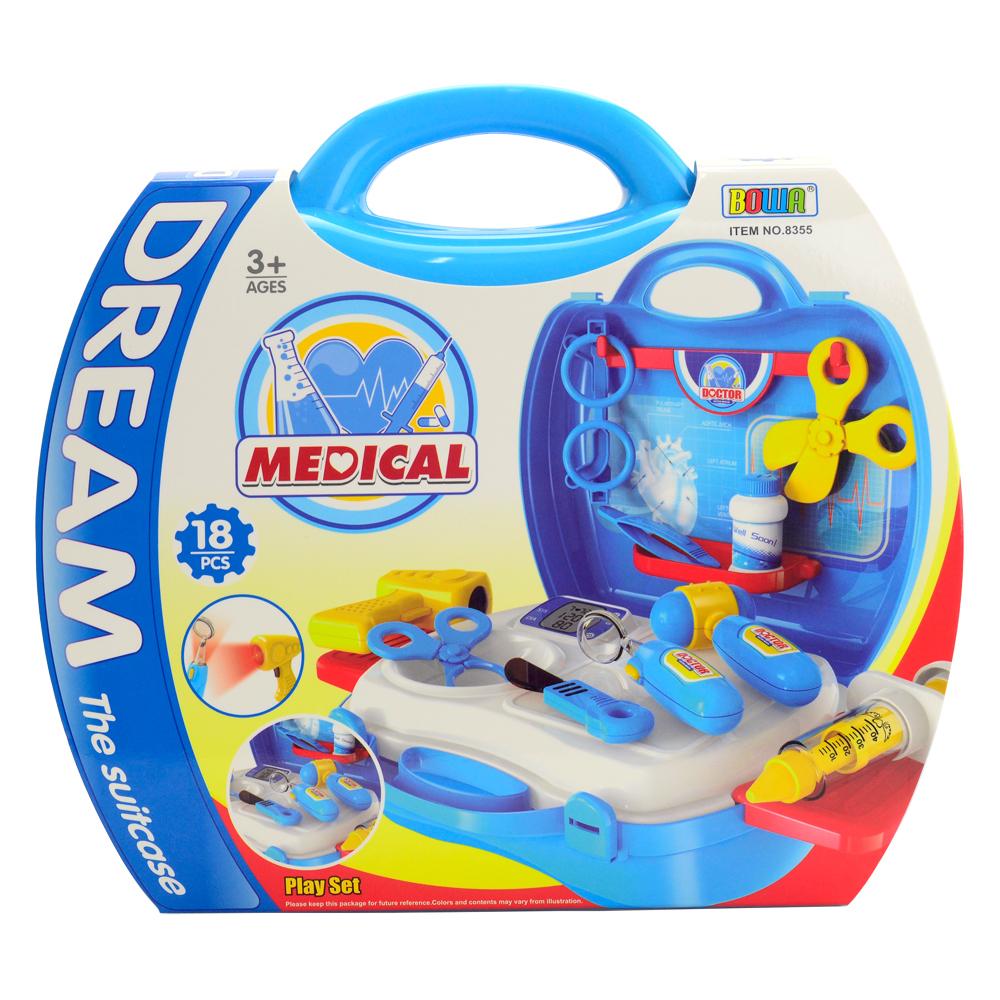《Dream The Suitcase-醫護系列》便攜式益智DIY醫具套裝組 18pcs