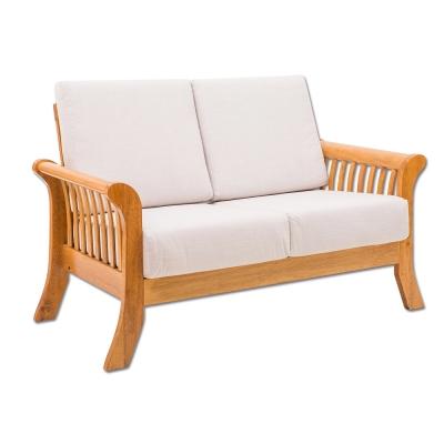 日木家居 Gene吉恩實木雙人沙發