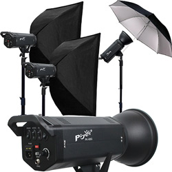 Piyet 大型專業攝影棚三燈組合 ( PK-400G )