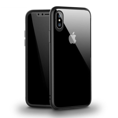 透明殼專家iPhone X 蜂巢抗震邊框 透明背蓋防摔殼