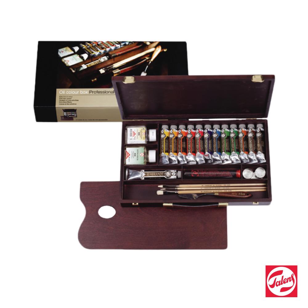 ROYAL TALENS 皇家泰倫斯 - 林布蘭系列 油畫顏料 (專家級木盒組)