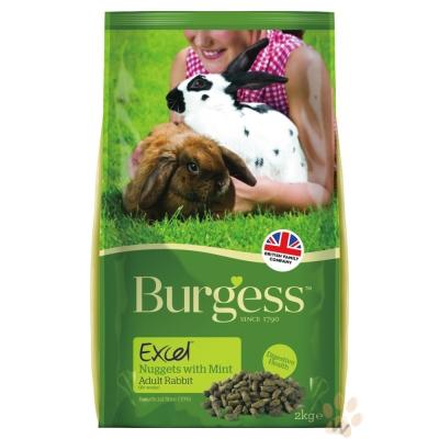 Burgess伯爵高機能兔飼料-成兔2kg 2入
