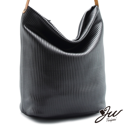 JW-肩側包-相賀條紋軟式肩側包-共三色