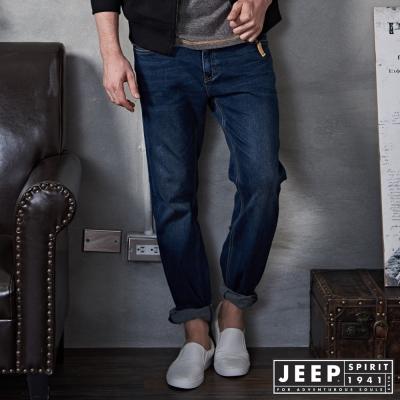 JEEP 美式西部經典牛仔褲 -深藍
