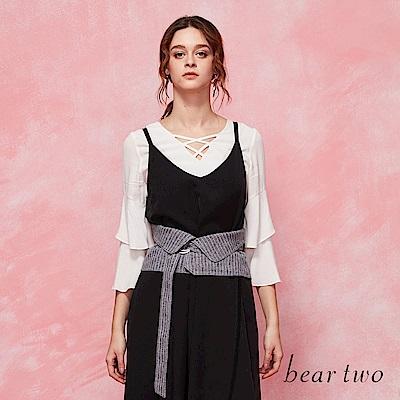 beartwo 甜美喇叭袖上衣(二色)