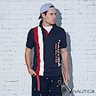 Nautica  街頭嘻哈Lil Yachty設計款POLO衫-藍