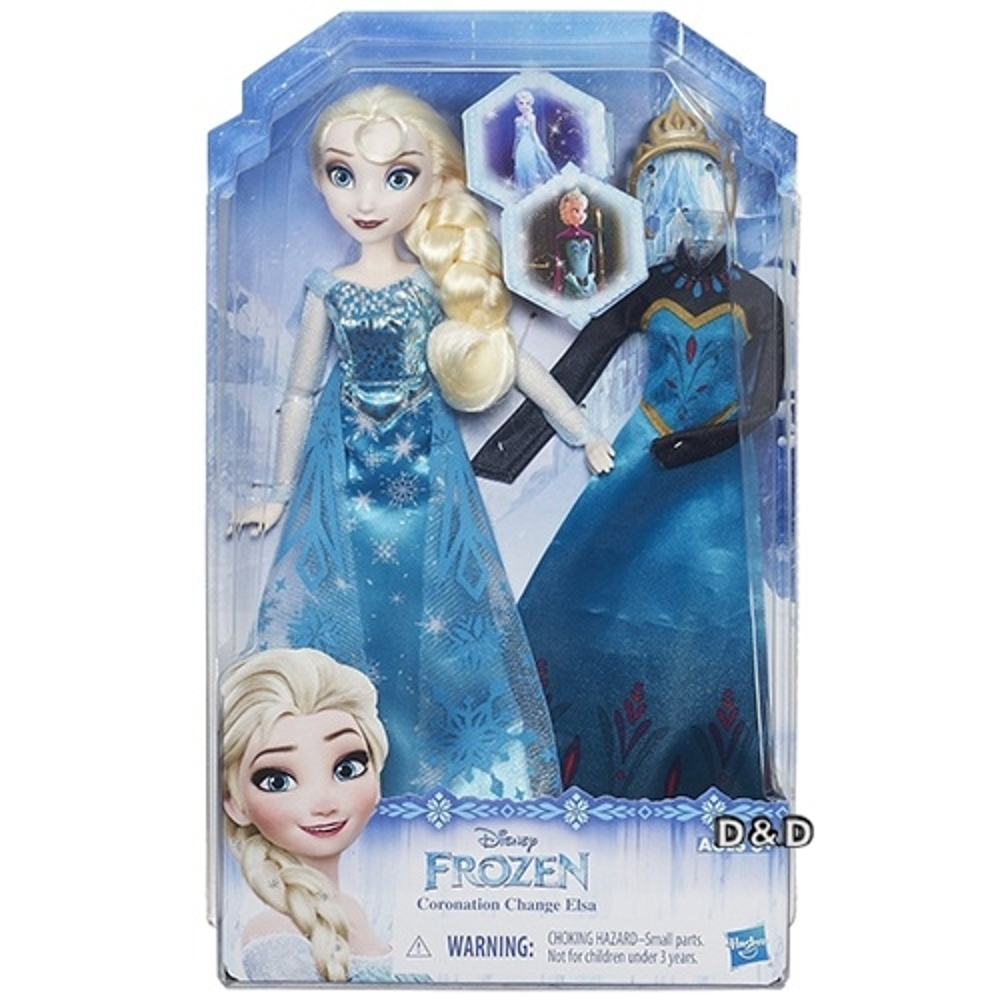 迪士尼公主系列冰雪奇緣公主換裝組艾莎