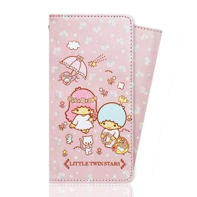 iPhone 7 Plus 三麗鷗正版授權  雙子星彩繪皮套-花籃款