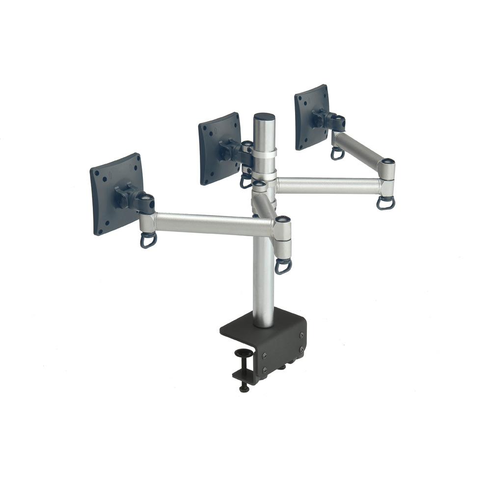 時尚屋 FOGIM夾桌懸臂式液晶三螢幕支架6033S