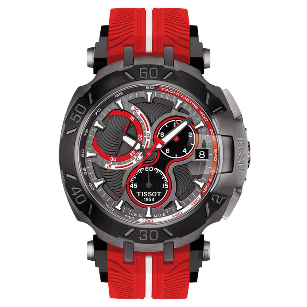 TISSOT天梭 T-RACE系列JORGE LORENZO 2017限量版賽車錶