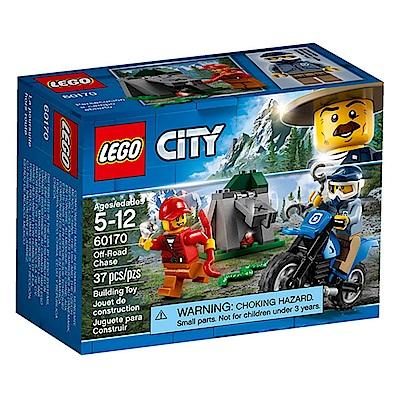 LEGO樂高 城市系列 60170 越野追逐戰