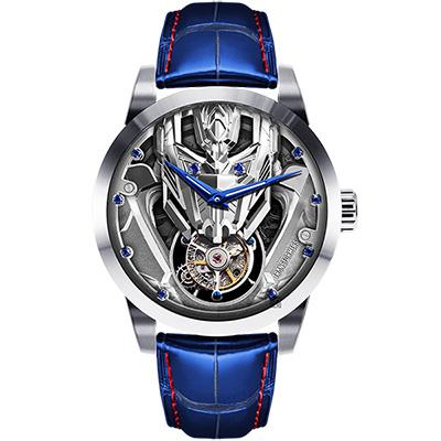 MEMORIGIN 萬希泉x變形金剛系列 柯博文陀飛輪腕錶-43mm