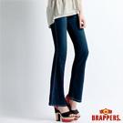 BRAPPERS 女款 新美腳 Royal 系列-女用彈性小喇叭褲-藍